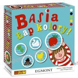 Gra planszowa edukacyjna Basia łap Kolory Egmont