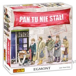 Gra planszowa rodzinna Pan tu nie stał Egmont