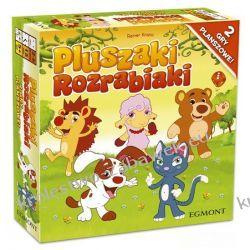 Gra planszowa dla dzieci Pluszaki Rozrabiaki
