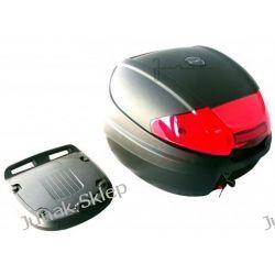 Kufer JUNAK 0830 czarny z odblaskiem-pojemność 30L. Do układów chłodzenia