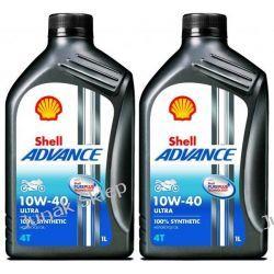 Olej Shell Ultra 4T 10W-40 2L 100% syntetyk. Syntetyczne