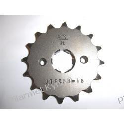 Zębatka napędowa do motocykli KYMCO Pulsar 125|Zing 125|Hipster 125|Stryker 125. Łańcuchy i zębatki