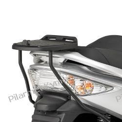 Bagażnik pod kufer włoskiej marki GIVI (Monolock) do Kymco Xciting 250 / 300i / 500i.