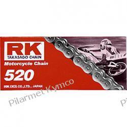 Łańcuch napędowy japońskiej marki RK 520M 100 ogniw. Kufry