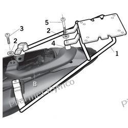 Bagażnik pod kufer SHAD do Keeway RKS/RKV 125|150|200|200S.