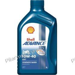 Shell Advance 4T AX7 10W-40 - najnowszy olej do silników czterosuwowych. Kaski