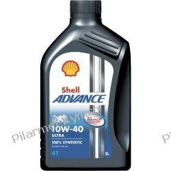 Shell Advance 4T Ultra 10W-40 - ultranowoczesny olej do silników czterosuwowych. Pozostałe