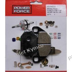Klocki hamulcowe POWER FORCE do KYMCO Super 9 LC / MXU 150 - tył.