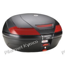 Kufer włoskiej marki KAPPA K49 Monokey. Bagażniki