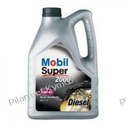 Mobil Super 2000 X1 Diesel 10W-40 - olej silnikowy. Akumulatory