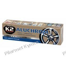 K2 ALUCHROM Chrome & Aluminium Polish- pasta do polerowania metalowych powierzchni. Mleczka i pasty polerskie