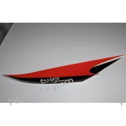 Naklejka boczna lewa przedniej owiewki Kymco Bet & Win 50RR Sport.