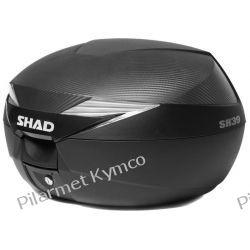 Kufer SHAD SH39 Carbon Top Cases + płyta montażowa. Lusterka