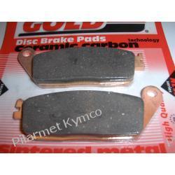 Klocki hamulcowe renomowanej marki GOLDFREN AD do KYMCO Xciting 250 / MyRoad 700i.