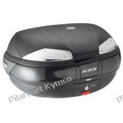 Kufer włoskiej marki KAPPA K53 Tech Monokey + płyta montażowa. Owiewki