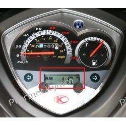 Zegarek cyfrowy (wyświetlacz LCD) do liczników KYMCO Agility City. Łańcuchy