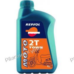 Olej silnikowy REPSOL Moto Town 2T - olej do silników dwusuwowych. Tarcze