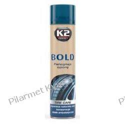 K2 BOLD - spray do nabłyszczania i pielęgnacji opon. Lusterka