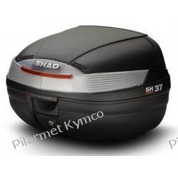 Kufer SHAD SH37 Top Cases + podstawa mocująca. Owiewki