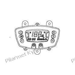 Licznik cyfrowy (wyświetlacz LCD) do ATV KYMCO MXU 300. Tarcze