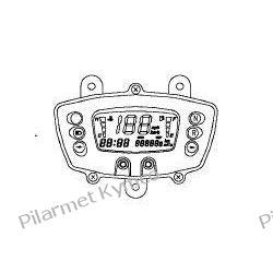 Licznik cyfrowy (wyświetlacz LCD) do ATV KYMCO MXU 250. Części motocyklowe