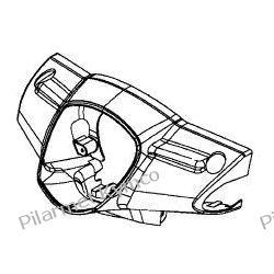 Przednia owiewka kierownicy do Kymco Like 50 125. Łańcuchy i zębatki