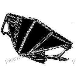 Przednia owiewka kierownicy do Kymco Agility RS 50 4T|2T. Bagażniki