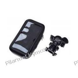Uchwyt na telefon|smartfon z mocowaniem na kierownicę XL.