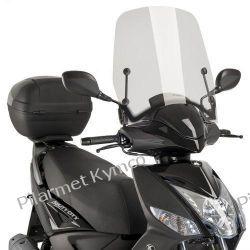 Szyba czołowa hiszpańskiej marki PUIG T.S. do Kymco Agility 16+ 50|125|200i. Części motocyklowe