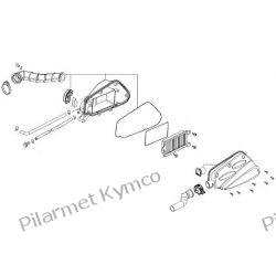 Filtr powietrza kompletny do Kymco Agility City 50 4T|Super 8 50 4T. Części motocyklowe