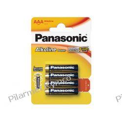 Bateria alkaliczna Panasonic LR03 AAA 4szt. Pozostałe