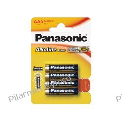 Bateria alkaliczna Panasonic LR03 AAA 4szt. Motoryzacja