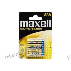 Bateria alkaliczna Maxell Super Alkaline LR3 AAA 4szt. Części motocyklowe