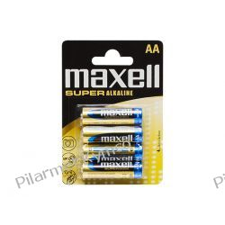 Bateria alkaliczna Maxell Super Alkaline LR6 AAA 4szt. Części motocyklowe