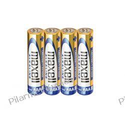 Bateria alkaliczna Maxell Alkaline LR3 AAA 4szt. Części motocyklowe