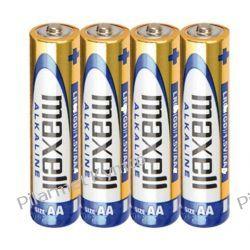 Bateria alkaliczna Maxell Alkaline LR6 AA 4szt. Części motocyklowe