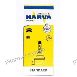 Żarówka NARVA H8 35W 12V PGJ19-1 do przednich reflektorów. Części motocyklowe