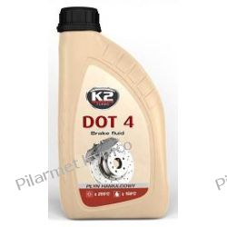 DOT-4 K2 1L - płyn do układów hamulcowych. Chemia