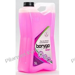 BORYGO Nowy 5L - płyn do chłodnic (kolor różowy). Oświetlenie
