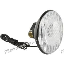 Lampa rowerowa przednia na dynamo 6V/2.4Watt. Stopki