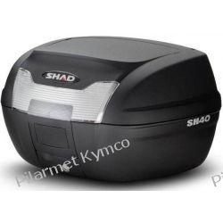 Kufer SHAD SH40 + podstawa mocująca. Stopki