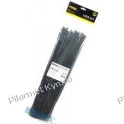 Opaska zaciskowa (trytytka) 3.6 x 370mm czarna (100szt.). Motoryzacja