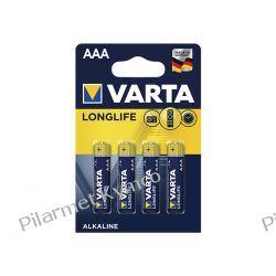 Bateria alkaliczna VARTA Longlife LR03 AAA 4szt. Zasilanie
