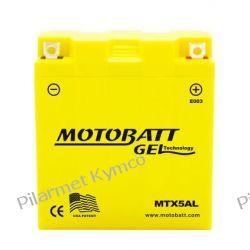 Akumulator żelowy MOTOBAT MTX5AL (12N5-3B) 5Ah do Kymco Activ|Nexxon.