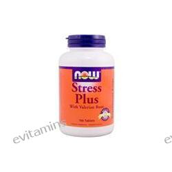 Now Foods, Stress Plus with Valerian Root, 100 Tablets