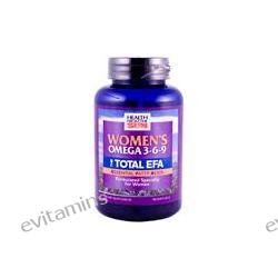 Health From The Sun, Women's Omega 3-6-9, The Total EFA, 90 Soft Gels