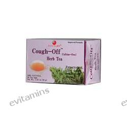Health King, Cough-Off Herb Tea, (Caffeine Free), 20 Tea Bags