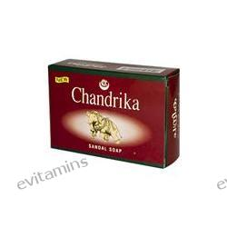 Herbal - Vedic, Chandrika Sandal Soap, 75 g, 1 Bar