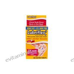 Schiff, Lubriflex 3, Triple Action Joint Care System, 80 Coated Tablets