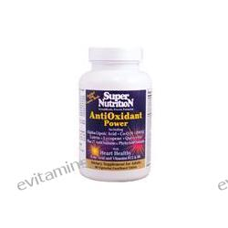 Super Nutrition, AntiOxidant Power, 60 Veggie Tabs